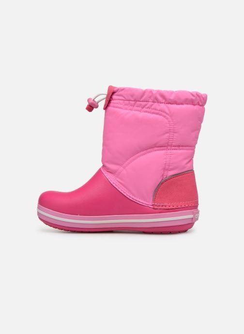 Chaussures de sport Crocs Crocband LodgePoint Boot K Rose vue face