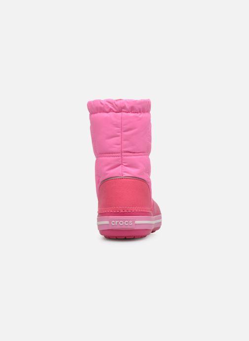 Chaussures de sport Crocs Crocband LodgePoint Boot K Rose vue droite