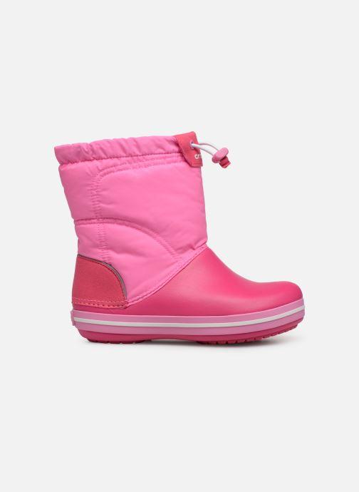 Chaussures de sport Crocs Crocband LodgePoint Boot K Rose vue derrière