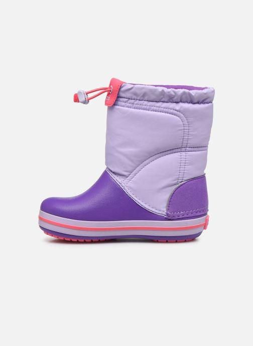 Chaussures de sport Crocs Crocband LodgePoint Boot K Violet vue face