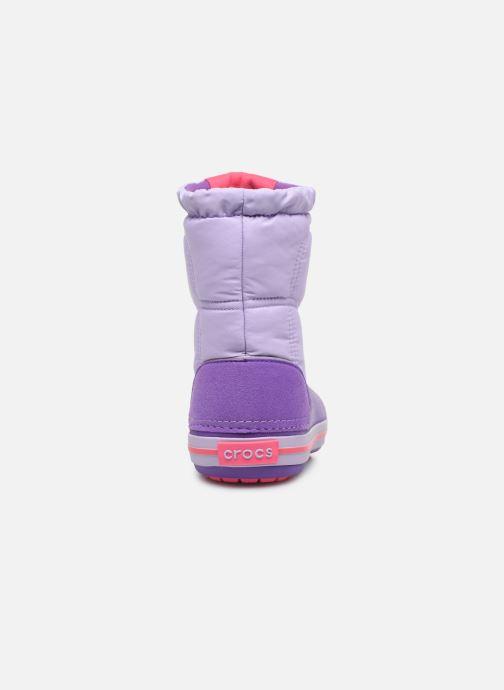 Zapatillas de deporte Crocs Crocband LodgePoint Boot K Violeta      vista lateral derecha