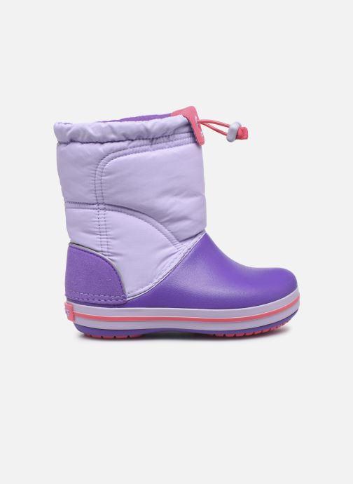 Chaussures de sport Crocs Crocband LodgePoint Boot K Violet vue derrière
