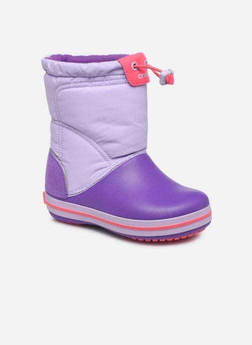 Chaussures de sport Crocs Crocband LodgePoint Boot K Violet vue détail/paire