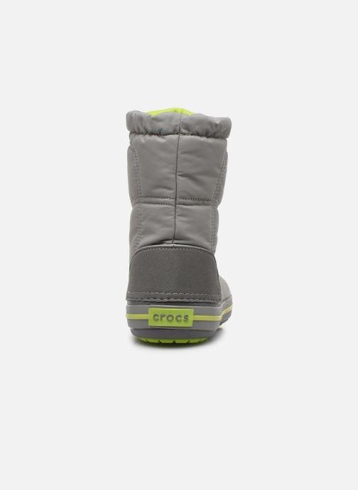 Zapatillas de deporte Crocs Crocband LodgePoint Boot K Gris vista lateral derecha