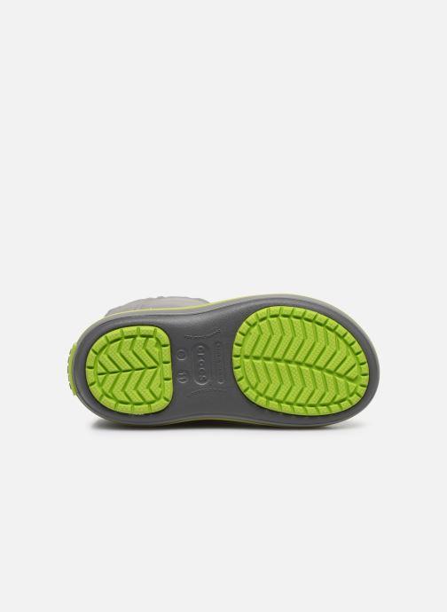 Zapatillas de deporte Crocs Crocband LodgePoint Boot K Gris vista de arriba