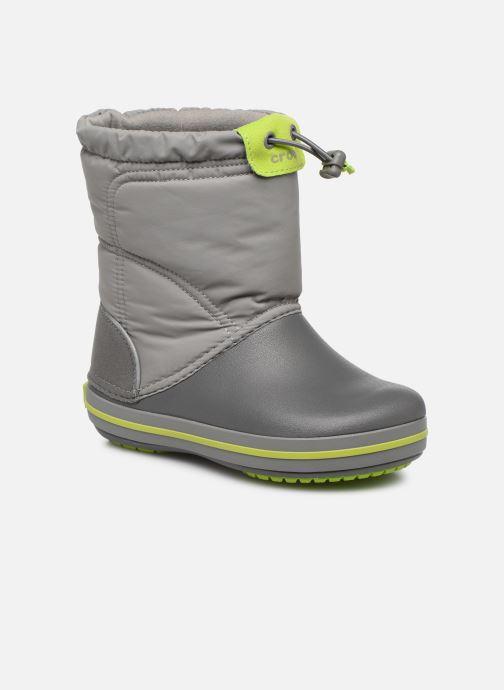 Chaussures de sport Crocs Crocband LodgePoint Boot K Gris vue détail/paire