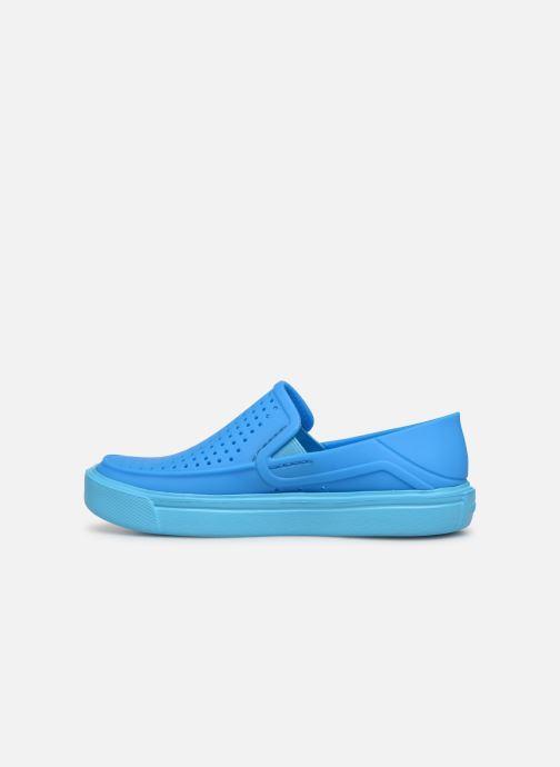 Sneakers Crocs CitiLane Roka K Azzurro immagine frontale