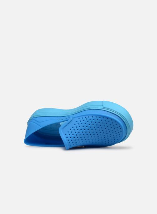 Baskets Crocs CitiLane Roka K Bleu vue gauche