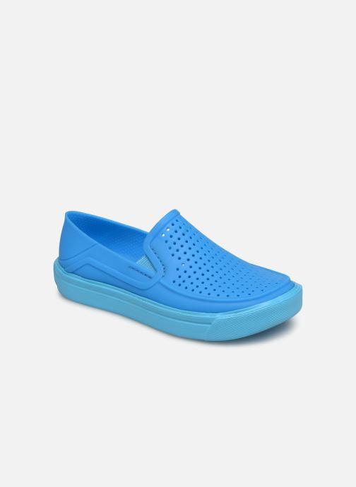 Baskets Crocs CitiLane Roka K Bleu vue détail/paire