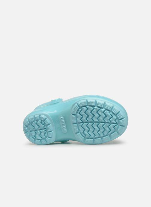 Sandales et nu-pieds Crocs Crocs Isabella Clog PS Bleu vue haut