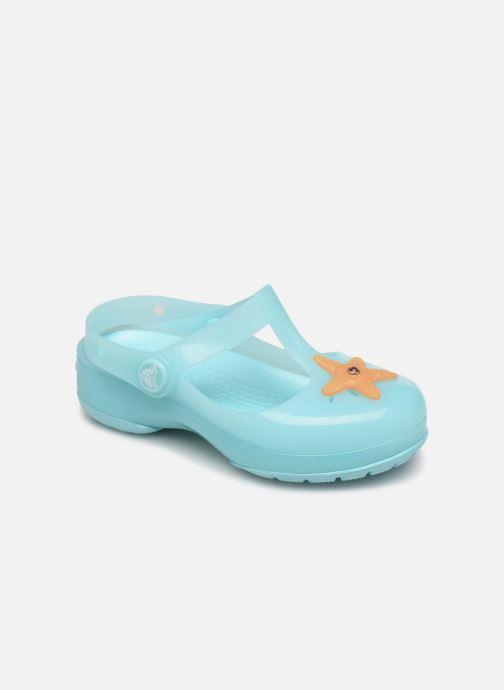 Sandales et nu-pieds Crocs Crocs Isabella Clog PS Bleu vue détail/paire