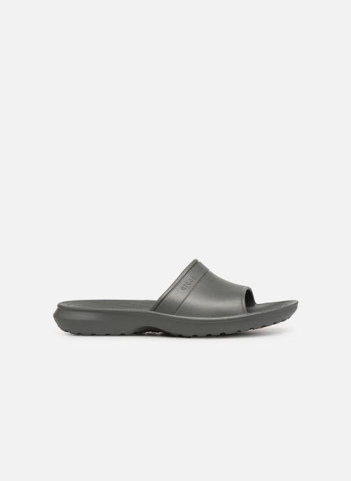 Sandales et nu-pieds Crocs Classic Slide Gris vue derrière