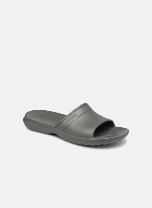 Sandals Crocs Classic Slide Grey detailed view/ Pair view