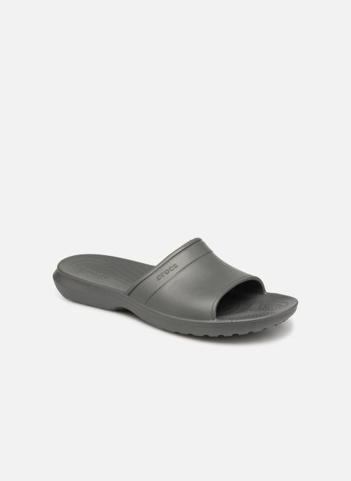 Sandales et nu-pieds Crocs Classic Slide Gris vue détail/paire