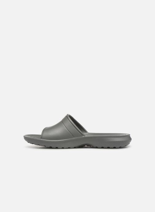 Wedges Crocs Classic Slide W Grijs voorkant