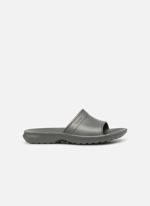 Wedges Crocs Classic Slide W Grijs achterkant