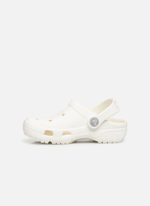 Sandales et nu-pieds Crocs Crocs Coast Clog K Blanc vue face