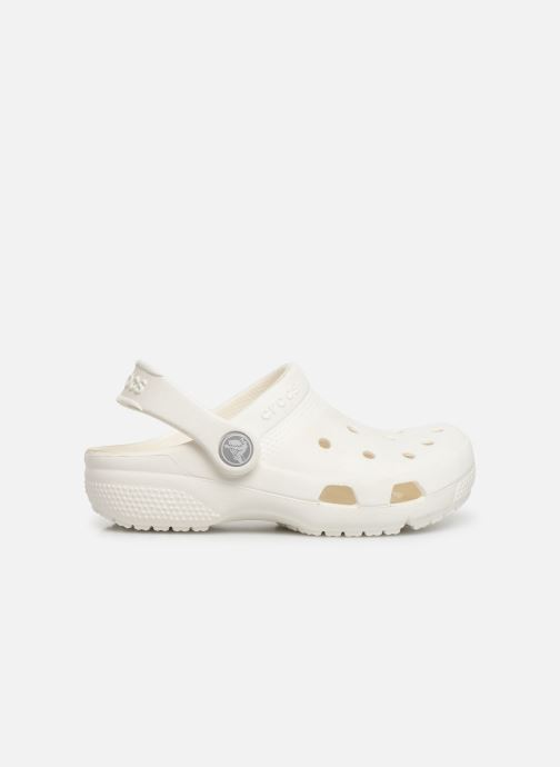 Sandales et nu-pieds Crocs Crocs Coast Clog K Blanc vue derrière