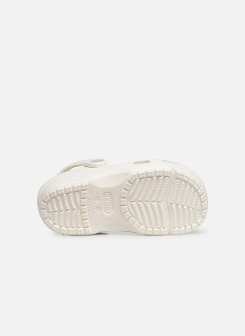 Sandales et nu-pieds Crocs Crocs Coast Clog K Blanc vue haut