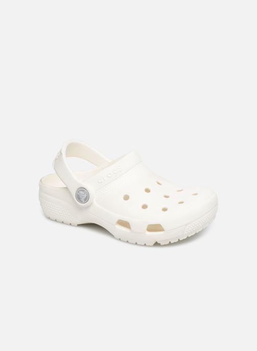 Sandales et nu-pieds Crocs Crocs Coast Clog K Blanc vue détail/paire