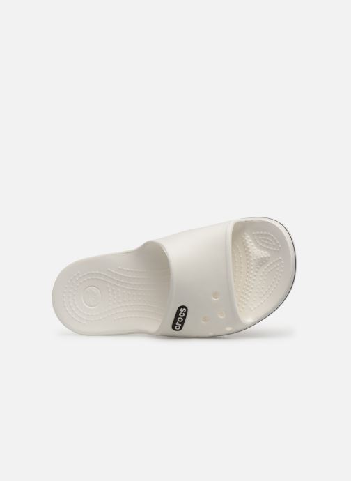 Mules & clogs Crocs Crocband II Slide W White view from the left