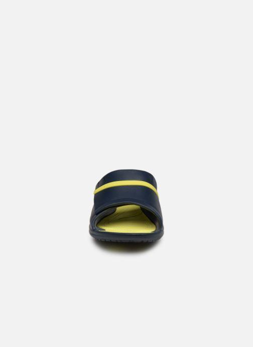 Sandali e scarpe aperte Crocs Modi Sport Slide Azzurro modello indossato