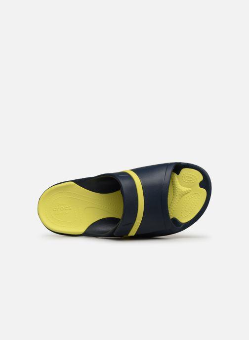 Sandales et nu-pieds Crocs Modi Sport Slide Bleu vue gauche