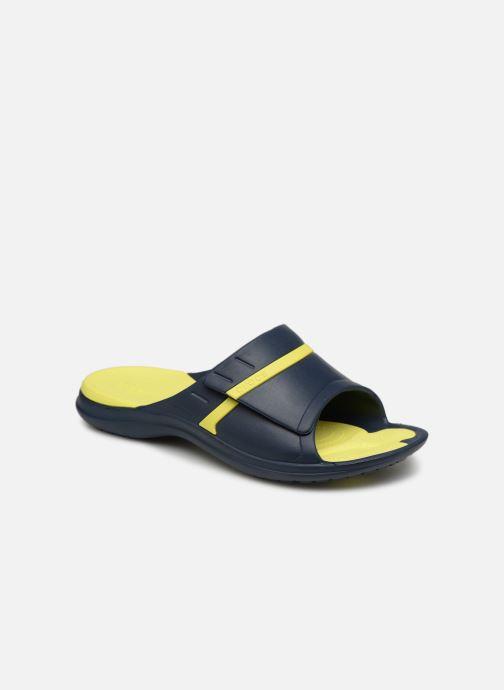 Sandales et nu-pieds Crocs Modi Sport Slide Bleu vue détail/paire