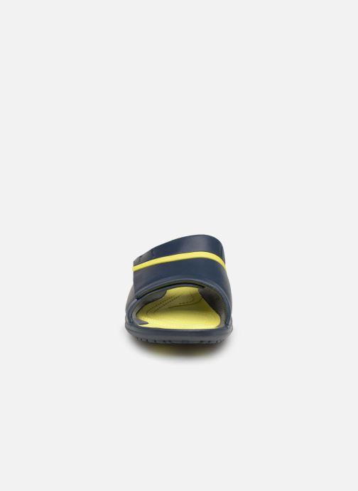 Mules et sabots Crocs Modi Sport Slide W Bleu vue portées chaussures
