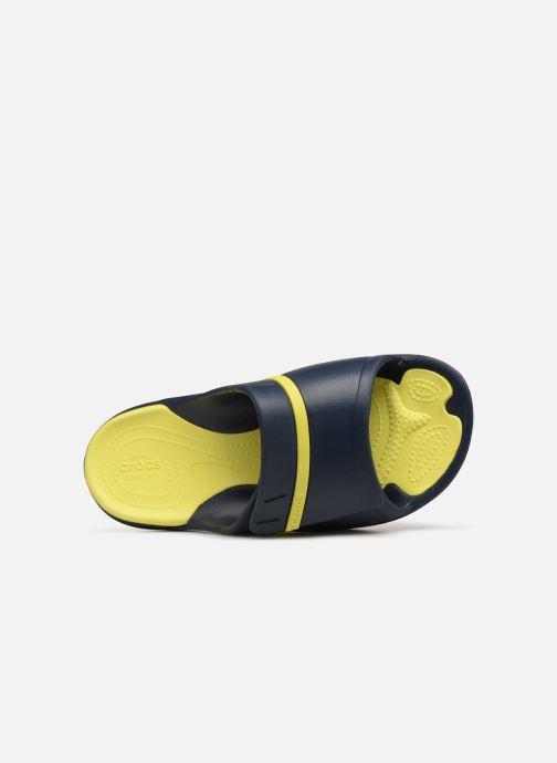 Mules et sabots Crocs Modi Sport Slide W Bleu vue gauche
