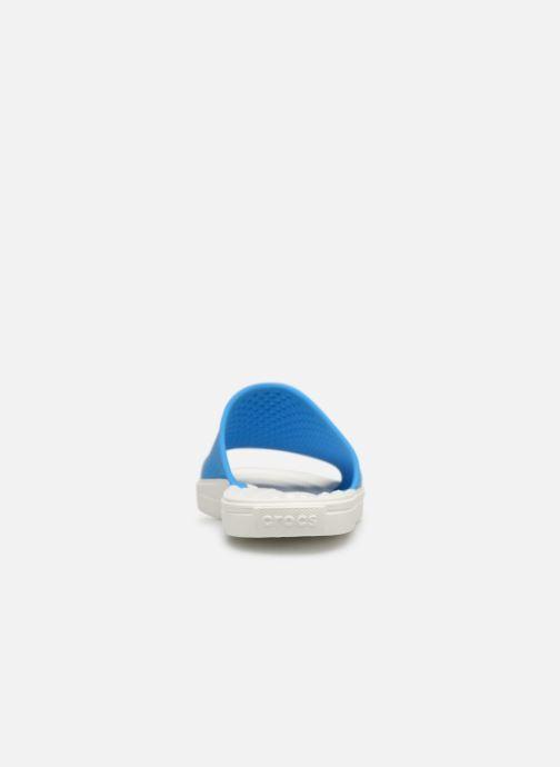Sandales et nu-pieds Crocs CitiLane Roka Slide M Bleu vue droite