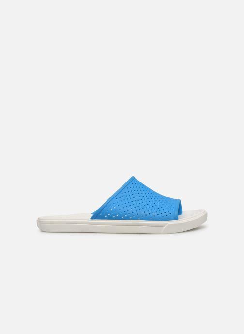 Sandales et nu-pieds Crocs CitiLane Roka Slide M Bleu vue derrière