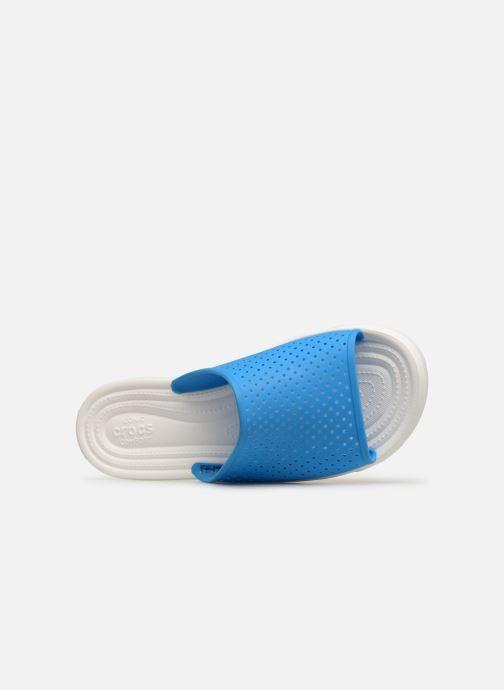 Sandales et nu-pieds Crocs CitiLane Roka Slide M Bleu vue gauche
