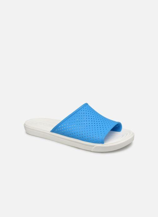 Sandales et nu-pieds Crocs CitiLane Roka Slide M Bleu vue détail/paire