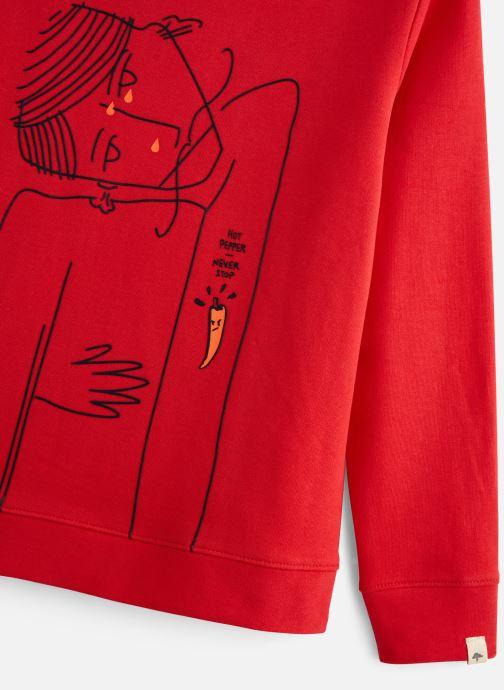 Vêtements Billybandit V25439 Rouge vue portées chaussures