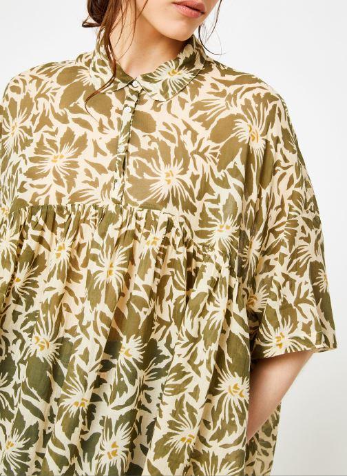 Vêtements La Cabane de Stella 02.TUNIQUE IMP IBIZA Vert vue face