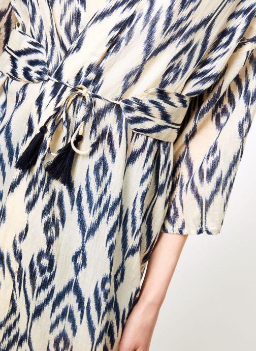 Vêtements La Cabane de Stella 01.KIMONO IMP MEKONG Bleu vue face