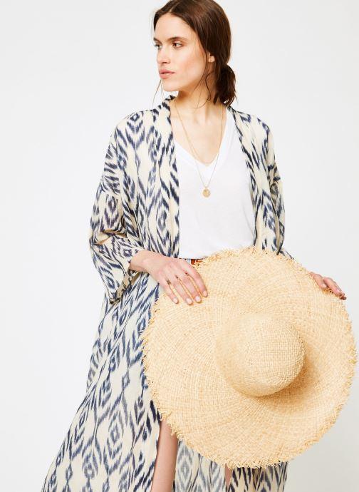 Vêtements La Cabane de Stella 01.KIMONO IMP MEKONG Bleu vue droite