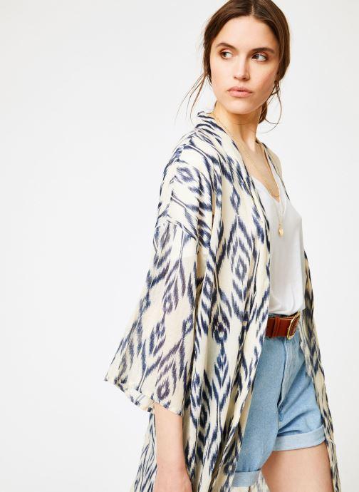 Vêtements La Cabane de Stella 01.KIMONO IMP MEKONG Bleu vue détail/paire