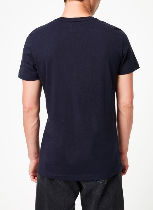 Kleding Calvin Klein Jeans MONOGRAM POCKET SLIM SS TEE Blauw model
