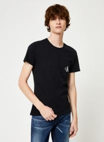 T-shirt - MONOGRAM POCKET SLIM SS TEE