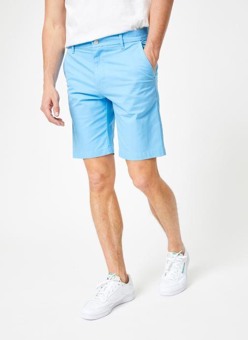 Vêtements Calvin Klein Jeans CKJ 026 SLIM CHINO SHORT Bleu vue détail/paire