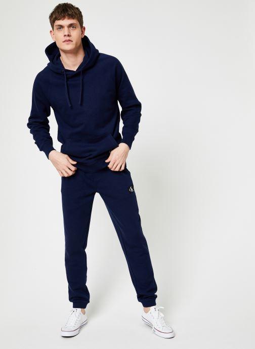 Vêtements Calvin Klein Jeans INDIGO HOODIE Bleu vue bas / vue portée sac