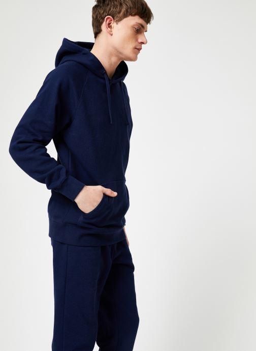 Vêtements Calvin Klein Jeans INDIGO HOODIE Bleu vue droite