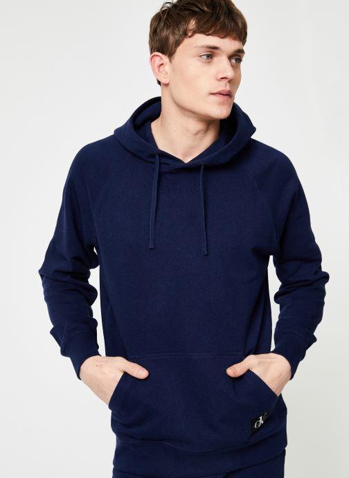 Vêtements Calvin Klein Jeans INDIGO HOODIE Bleu vue détail/paire