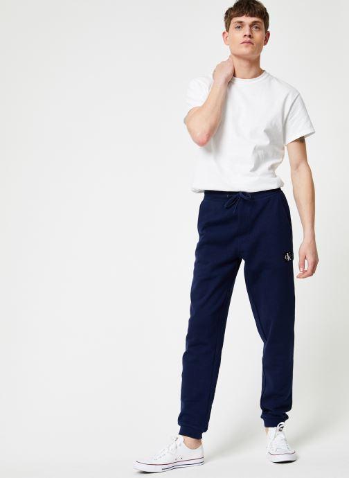 Vêtements Calvin Klein Jeans INDIGO JOGPANT Bleu vue bas / vue portée sac