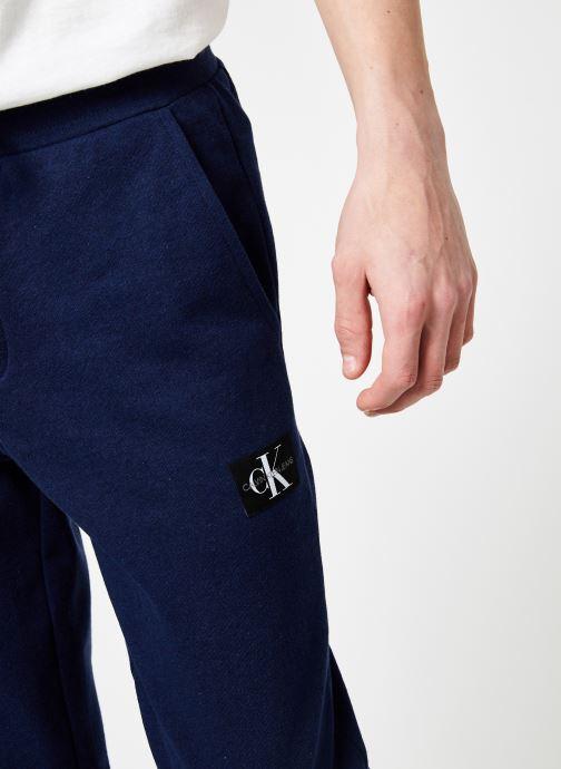 Vêtements Calvin Klein Jeans INDIGO JOGPANT Bleu vue face
