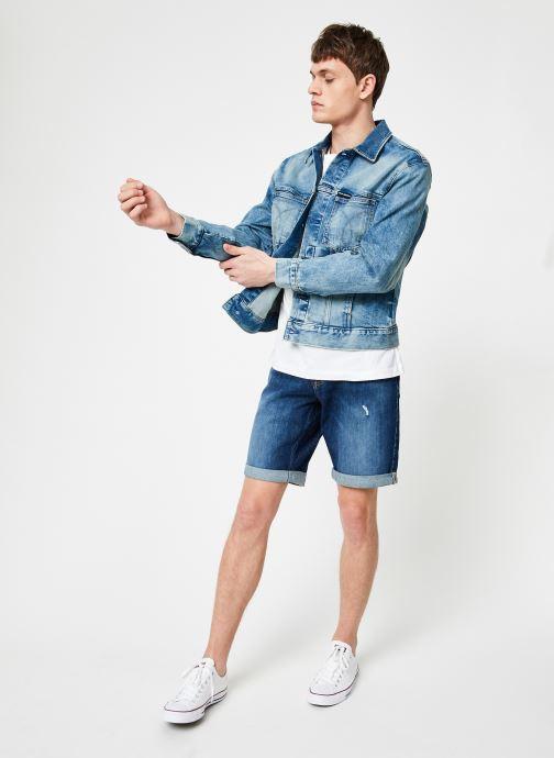 Vêtements Calvin Klein Jeans MODERN CLASSIC TRUCKER OMEGA Bleu vue bas / vue portée sac