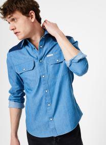 Vêtements Accessoires INDIGO WESTERN CONTRAST REG LS