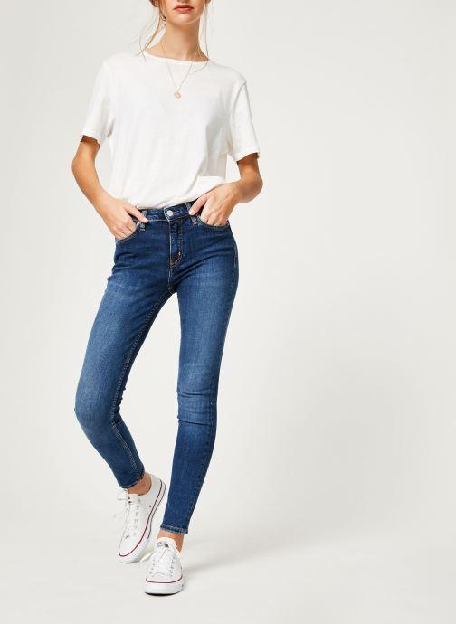 Vêtements Calvin Klein Jeans CKJ 011 Mid Rise Skinny Bleu vue bas / vue portée sac